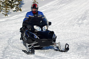 snowmobile - winter - atv